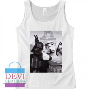 Darth Vader Stormtrooper Holiday on Paris Tank Top For Women and Men