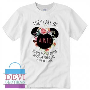 Aunt Disney T-Shirt For Women's Or Men's Adult