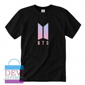 BTS Logo T-Shirt For Women's Or Men's Adult
