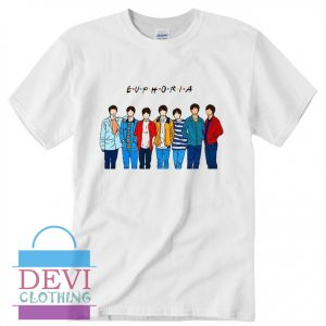 Bangtan BTS T-Shirt For Women's Or Men's Adult