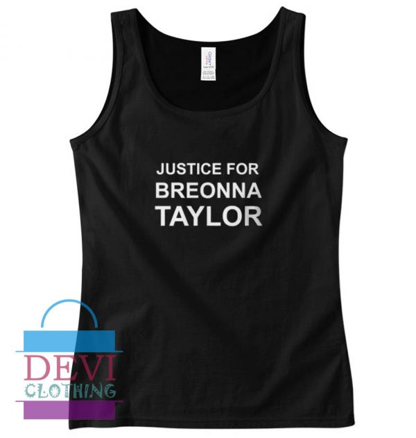 Justice For Breonna Taylor Tank Top For Women and Men