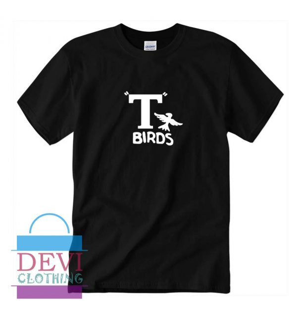 T Birds Jacket Logo From Grease T-Shirt For Women's Or Men's Adult