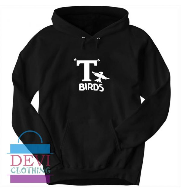 T Birds Jacket Logo From Grease Hoodie Unisex Adult
