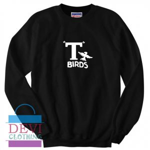 T Birds Jacket Logo From Grease Sweatshirt For Unisex Adult