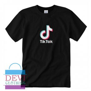 Tik Tok T-Shirt For Women's Or Men's Adult