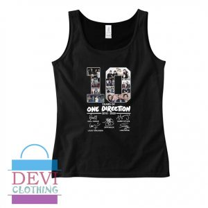 10 Years Of One Direction Tank Top