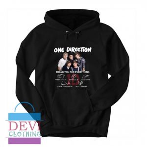 One Direction Thank You Hoodie