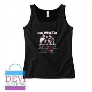 One Direction Thank You Tank Top