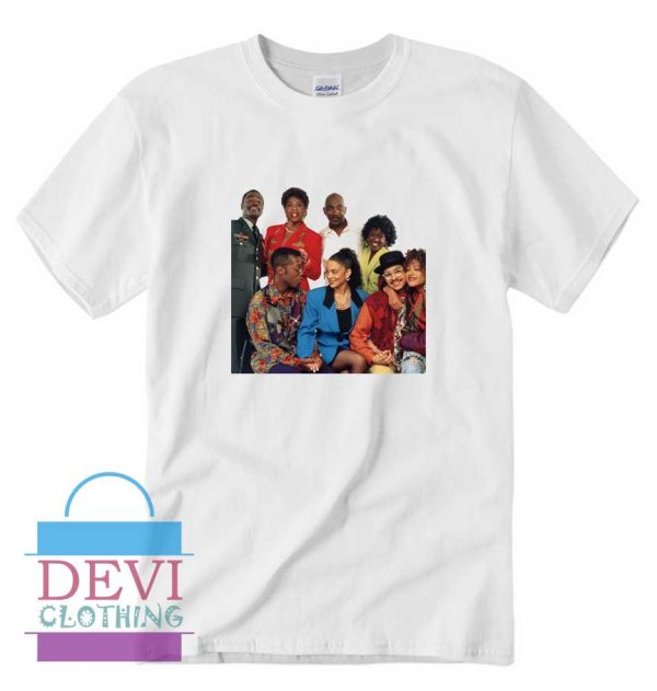A Different World Characters T-Shirt