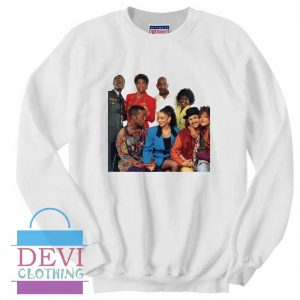 A Different World Characters Sweatshirt