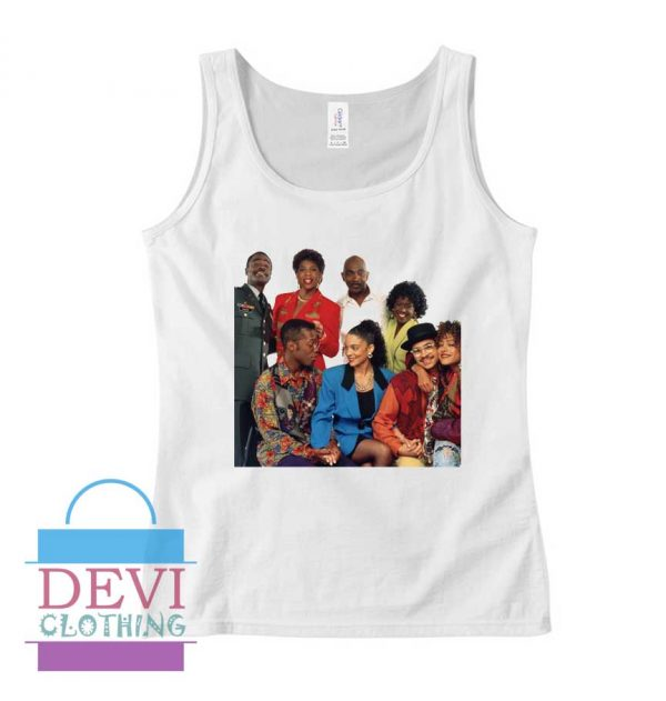 A Different World Characters Tank Top