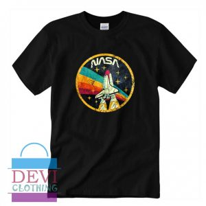 USA Space Agency Vintage T-Shirt