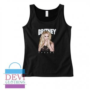 Britney Spears Pict Tank Top