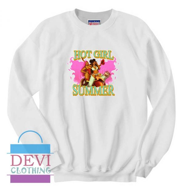 Megan Hot Girl Summer Sweatshirt