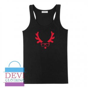 Reindeer Christmas Tank Top